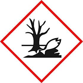 Gefahrgutkennzeichnung Fisch / Baum Symbol